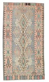 Kilim Semi Antique Turkish Rug 171X316 Authentic  Oriental Handwoven Light Brown/Light Pink/Light Grey (Wool, Turkey)
