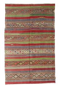 Kilim Semi Antique Turkish Rug 166X265 Authentic  Oriental Handwoven Light Brown/Brown (Wool, Turkey)