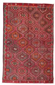 Kilim semi antique Turkish carpet XCGZK474