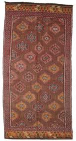 Kilim Semiantigua Turquía Alfombra 162X337 Oriental Tejida A Mano Marrón Oscuro/Rojo Oscuro (Lana, Turquía)