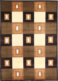 Himalaya Rug 169X237 Authentic  Modern Handknotted Brown/Light Brown/Black ( India)