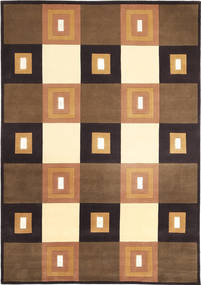 Himalaya Rug 173X245 Authentic  Modern Handknotted Brown/Black ( India)