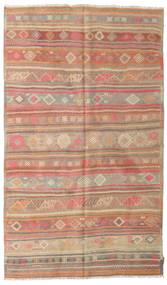 Kilim semi antique Turkish rug XCGZK445