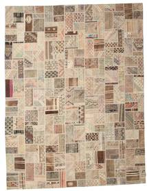Kilim Patchwork Rug 295X391 Authentic  Modern Handwoven Light Brown/Beige Large (Wool, Turkey)