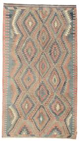 Kilim Semi Antique Turkish Rug 182X325 Authentic  Oriental Handwoven Light Brown/Light Grey (Wool, Turkey)