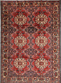 Bakhtiari Rug 222X310 Authentic  Oriental Handknotted Dark Red/Brown (Wool, Persia/Iran)