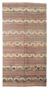 Kilim Semi Antique Turkish Rug 172X328 Authentic  Oriental Handwoven Light Brown/Light Pink (Wool, Turkey)