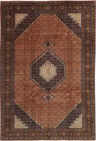 Ardebil Matta 198X295 Äkta Orientalisk Handknuten Mörkröd/Mörkbrun (Ull, Persien/Iran)