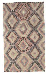 Kelim Semiantik Turkisk Matta 173X297 Äkta Orientalisk Handvävd Ljusbrun/Ljusgrå (Ull, Turkiet)