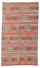 Kelim Halvt Antikke Tyrkiske Teppe 166X286 Ekte Orientalsk Håndvevd Lysbrun/Lilla (Ull, Tyrkia)