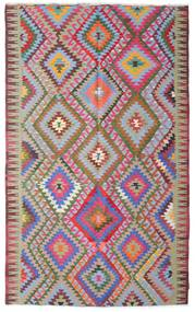 Kilim semi antique Turkish carpet XCGZK411