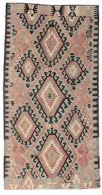 Kilim Semi Antique Turkish Rug 160X310 Authentic  Oriental Handwoven Light Grey/Light Brown (Wool, Turkey)
