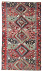 Kilim Semi Antique Turkish Rug 180X310 Authentic  Oriental Handwoven Dark Red/Light Grey (Wool, Turkey)