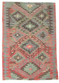 Kilim semi antique Turkish carpet XCGZK400