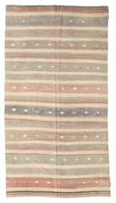 Kilim Semi Antique Turkish Rug 156X291 Authentic  Oriental Handwoven Light Grey/Beige (Wool, Turkey)