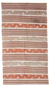 Kilim Semi Antique Turkish Rug 163X301 Authentic  Oriental Handwoven Light Brown/Light Grey (Wool, Turkey)