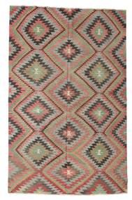 Kilim Semi Antique Turkish Rug 182X284 Authentic Oriental Handwoven Brown/Light Grey (Wool, Turkey)