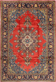 Wiss Rug 230X335 Authentic Oriental Handknotted Light Brown/Black (Wool, Persia/Iran)