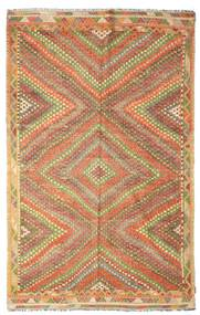 Kilim Semi Antique Turkish Rug 188X300 Authentic  Oriental Handwoven Brown/Light Brown (Wool, Turkey)