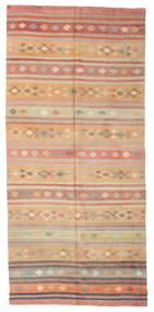Kilim Pół -Antyk Tureckie Dywan 167X362 Orientalny Tkany Ręcznie Jasnobrązowy/Jasnoróżowy (Wełna, Turcja)