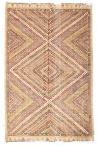 Kilim semi antique Turkish rug XCGZK383