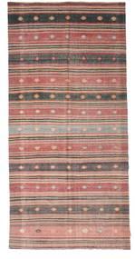 Kelim Semiantiikki Turkki Matto 165X344 Itämainen Käsinkudottu Vaaleanruskea/Vaaleanpunainen (Villa, Turkki)
