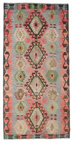 Kilim Semi Antique Turkish Rug 148X304 Authentic Oriental Handwoven Light Grey/Brown (Wool, Turkey)