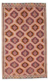 Kilim Semi Antique Turkish Rug 167X283 Authentic  Oriental Handwoven Dark Red/Beige (Wool, Turkey)