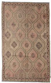 Kilim semi antique Turkish carpet XCGZK332