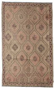 Kilim Semi Antique Turkish Rug 185X302 Authentic  Oriental Handwoven Light Brown/Brown (Wool, Turkey)