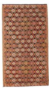 Kilim Semi Antique Turkish Rug 166X302 Authentic  Oriental Handwoven Light Brown/Dark Brown (Wool, Turkey)