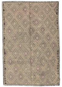 Kilim semi antique Turkish carpet XCGZK330