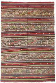 Tapis Kilim semi-antique Turquie XCGZK764