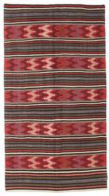 Kilim semi antique Turkish carpet XCGZK749