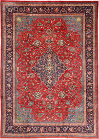 Mahal Rug 212X310 Authentic  Oriental Handknotted Rust Red/Dark Red (Wool, Persia/Iran)