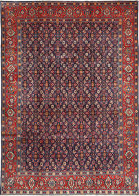 Mahal Matto 220X320 Itämainen Käsinsolmittu Tummanvioletti/Ruoste (Villa, Persia/Iran)
