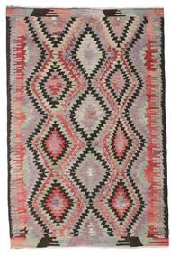 Kilim Semi Antique Turkish Rug 184X277 Authentic  Oriental Handwoven Dark Brown/Light Brown (Wool, Turkey)