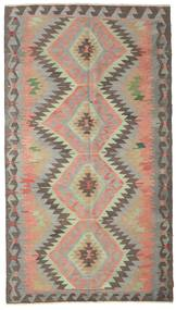Kilim semi antique Turkish rug XCGZK727