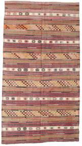 Kilim semi antique Turkish carpet XCGZK716