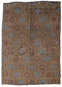 Kilim semi antique Turkish carpet XCGZK702
