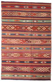 Kilim semi antique Turkish carpet XCGZK701