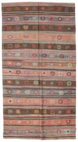 Kilim Semi Antique Turkish Rug 167X314 Authentic  Oriental Handwoven Light Brown/Brown (Wool, Turkey)