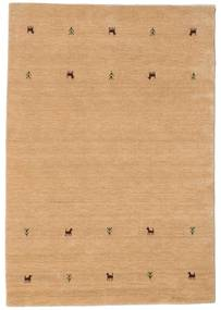 Gabbeh Loom Two Lines - Beige Rug 140X200 Modern Dark Beige (Wool, India)