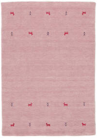 Alfombra Gabbeh loom Two Lines - Rosa CVD15335