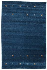 Gabbeh Loom Two Lines - Dark Blue Rug 190X290 Modern Dark Blue (Wool, India)