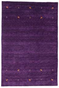 Gabbeh Loom Two Lines - Purple Rug 190X290 Modern Dark Purple/Purple (Wool, India)
