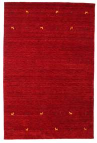 Gabbeh loom Two Lines - Red carpet CVD15023