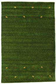 Covor Gabbeh loom Two Lines - Verde CVD15098