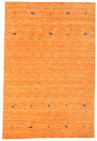 Gabbeh Loom Two Lines - Orange Tapis 190X290 Moderne Orange (Laine, Inde)