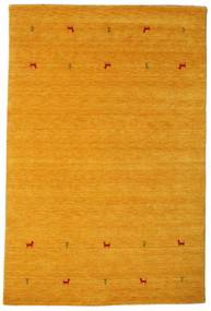 Gabbeh Loom Two Lines - Yellow Rug 190X290 Modern Orange (Wool, India)